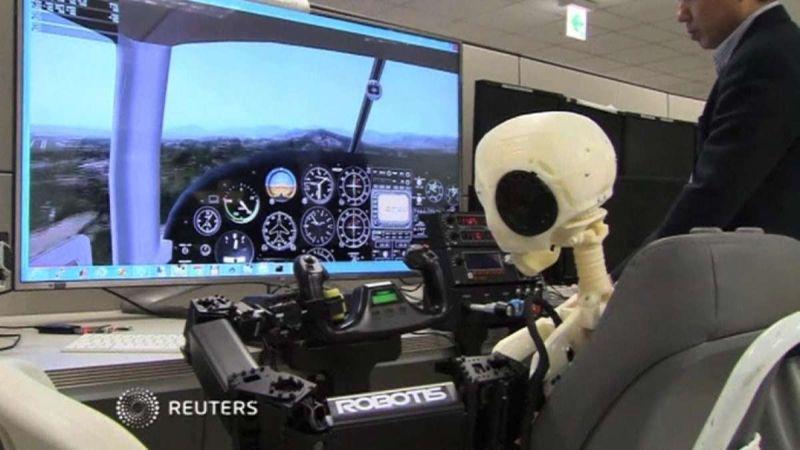 Pernahkah Membayangkan Pesawat yang Anda Naiki Diterbangkan Robot