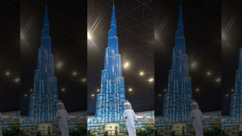 Unik, Lego Tertinggi di Dunia Berada di Dubai