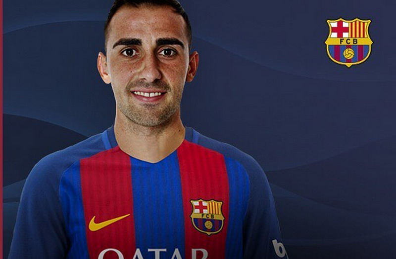 Alcacer dinilai akan setajam Suarez. (Foto: Facebook Barcelona)