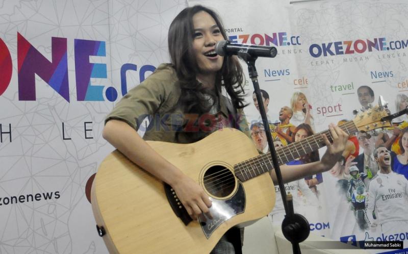 Sherly Sheinafia (Foto: Sabki/Okezone)