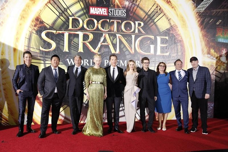 Aktor dan Aktris Pemain Film Doctor Strange. (Foto: MarvelStudio/Twitter)