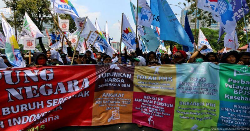 Buruh Jabar Tolak PP 78/2015