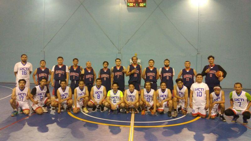 Tim RCTI sukses melaju ke final setelah mengalahkan Global TV. (Foto:Okezone)