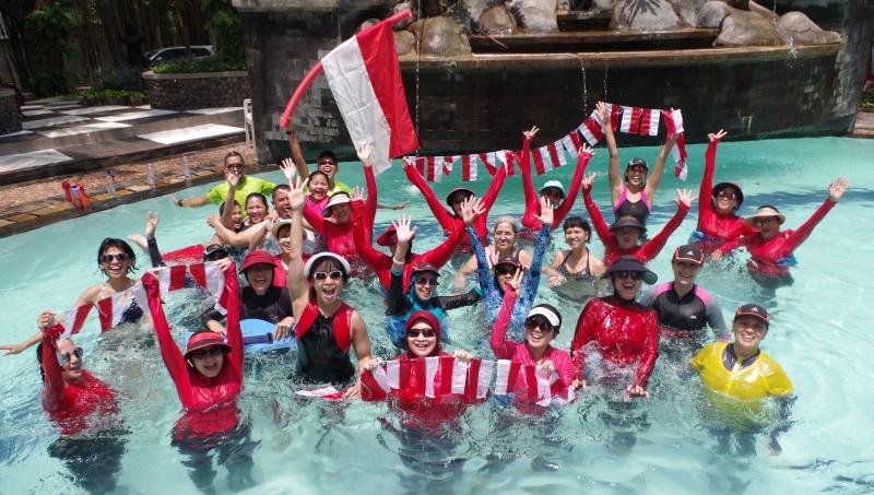 Aquathon di Indonesia (Foto: Keterangan Pers)
