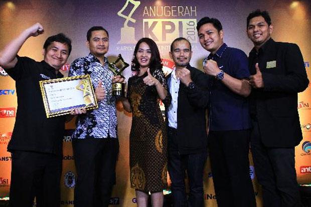 Global TV Raih Penghargaan dari Komisi Penyiaran Indonesia (KPI). (Foto: Koran-Sindo.com)