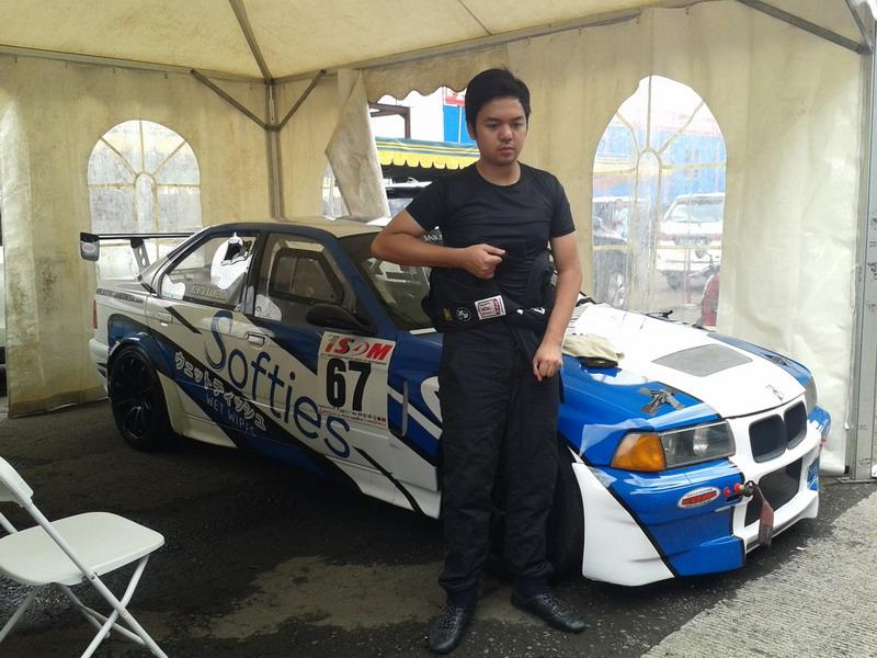 Kenta Kameron siap tampil di Kualifikasi. (Foto: Riski Bayuni Sagala/Okezone)