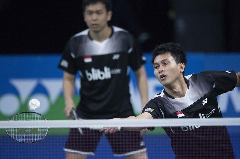 Hendra/Ahsan (Foto: Reuters)