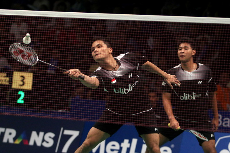 Angga Pratama/Ricky Karanda (Foto: Heru Haryono/Okezone)