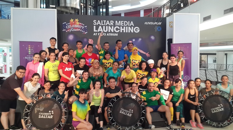 Pertama di Indonesia, Celebrity Fitness Luncurkan Olahraga Saltar