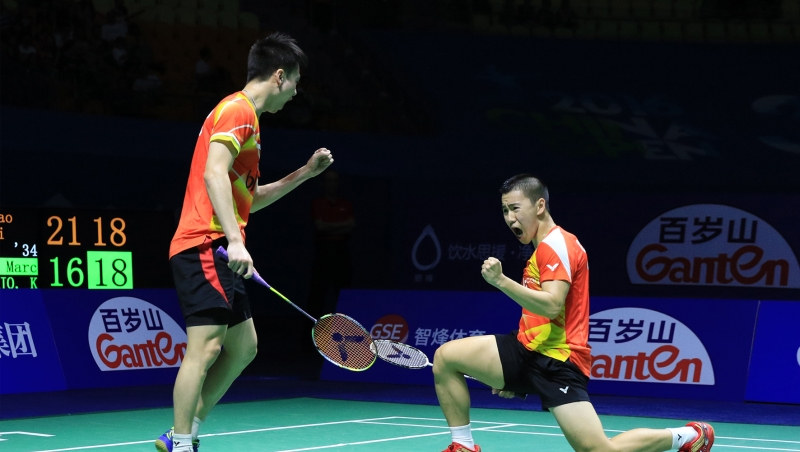 Kevin/Marcus ke final China Open 2016 (Foto: Situs resmi PBSI)