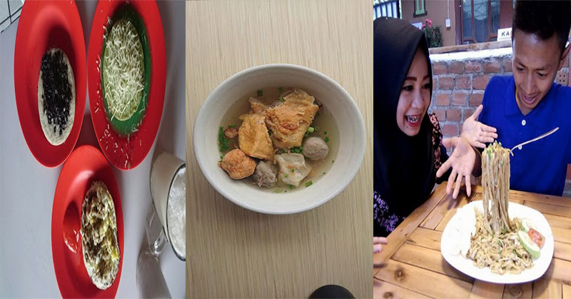 Lezatnya Bakso Malang & Mi Melayang untuk Makan Siang, Ditutup dengan Surabi Imut
