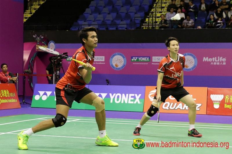 Owi/Butet tidak menyangka bisa tembus semifinal Hong Kong Opne 2016. (Foto:Badmintonindonesia.org)