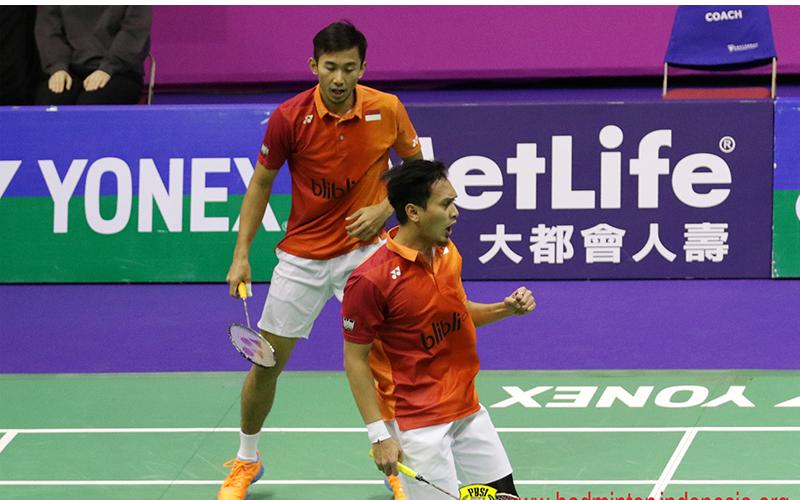 Muhammad Ahsan/Rian Agung Saputro (Foto: Badminton Indonesia)