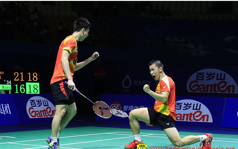 Kevin/Marcus (Foto: Badminton Indonesia)