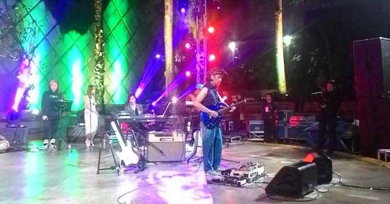 Konser Dewa Budjana (Foto: Rima/Okezone)