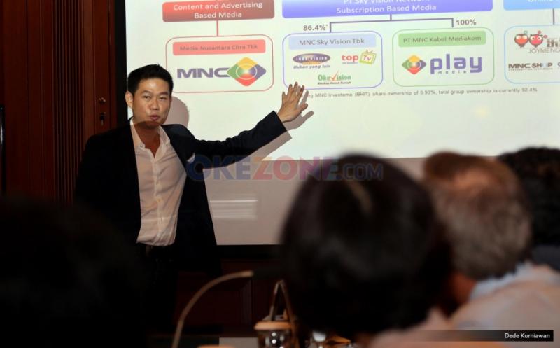 \Di Depan CEO Kakap, Dirut MNCN Paparkan Strategi Bisnis Media\