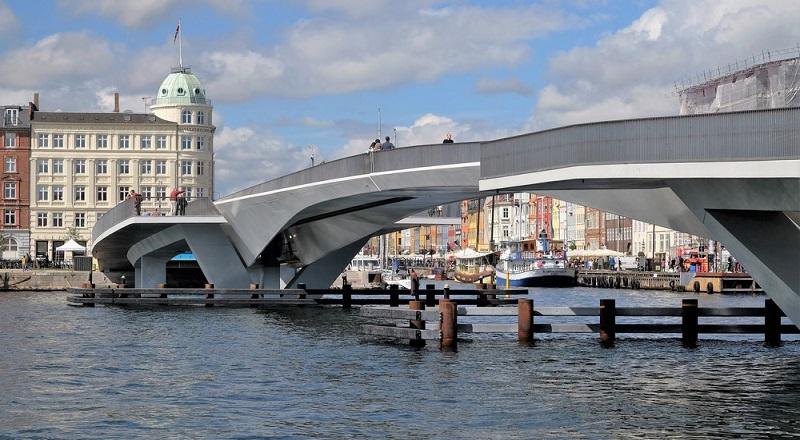 \Inner Harbour Bridge, Jembatan dengan Sistem Geser\