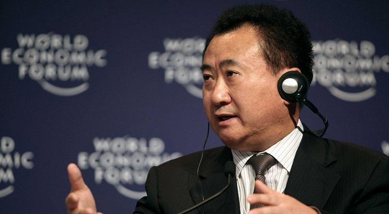 \Wang Jianlin Lirik Investasi di Indonesia\