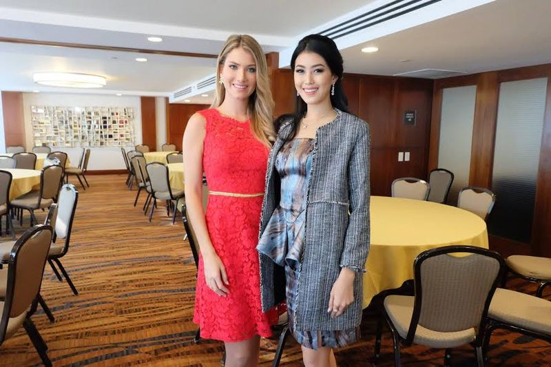 MISS WORLD 2016: Mireia Lalaguna Ungkap Pengalaman Jadi Miss World kepada Natasha Mannuela