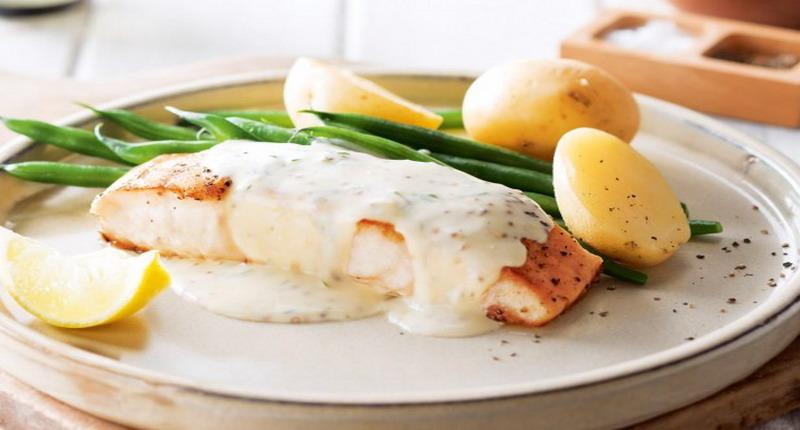 Kreasi Keju dengan Ikan: Kakap Panggang Saus Keju