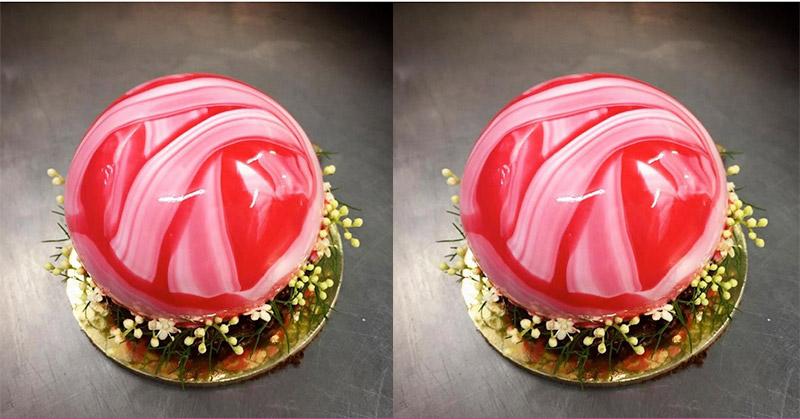Merah Menggoda, Dessert Natal Olahan 'King of Dessert' MasterChef Australia dari Indonesia