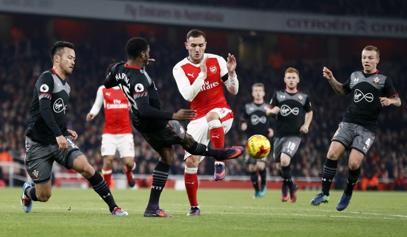 Arsenal vs Southampton (Foto: Reuters)