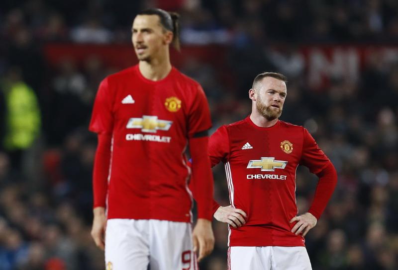 Man United tertahan di babak pertama. (Foto: REUTERS/Jason Cairnduff)