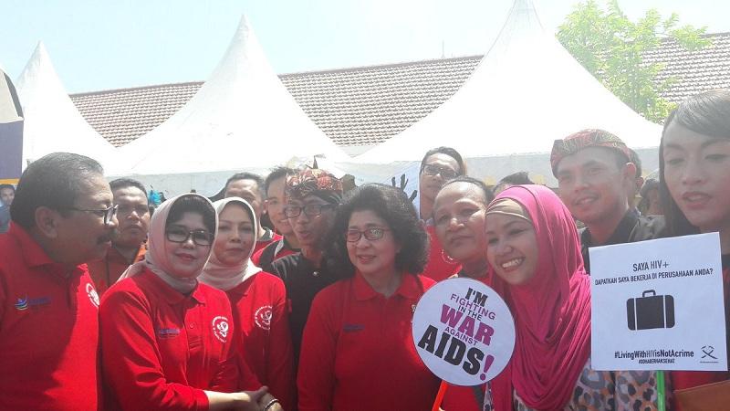 HARI AIDS SEDUNIA: Menkes Serukan Masyarakat untuk Tidak Takut Tes HIV