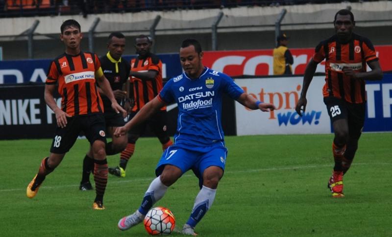 Persib vs Perseru (Foto: Fahrul Jayadiputra/Antara)