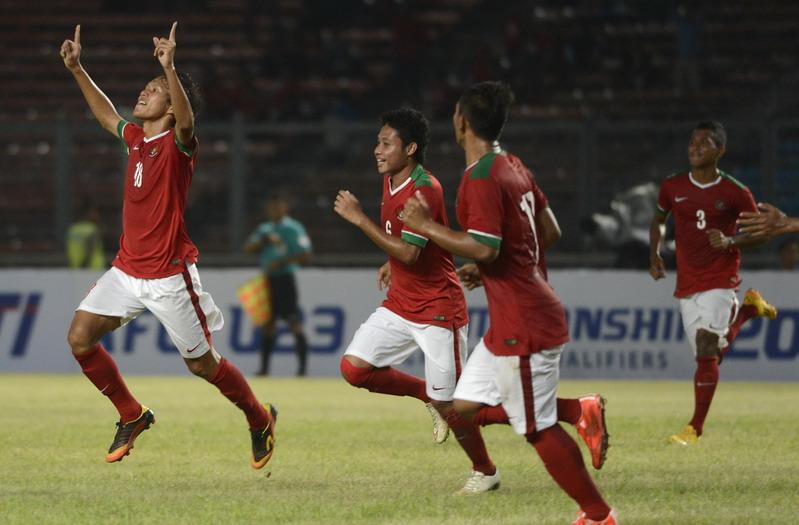Timnas Indonesia (Foto: Wahyu Putro A/Antara)