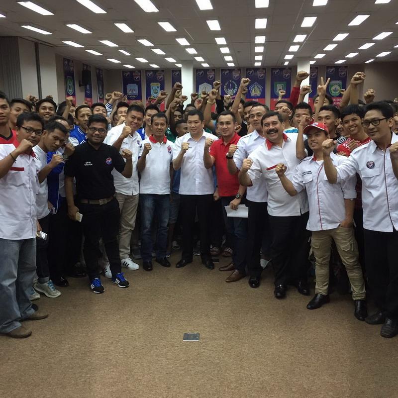 Liga Futsal Perindo digelar 2-4 Desember 2016. (Foto: Rully Pane/Okezone)