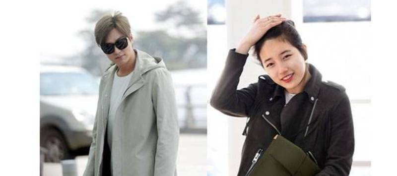 Lee Min Ho dan Suzy (Foto: Allkpop)