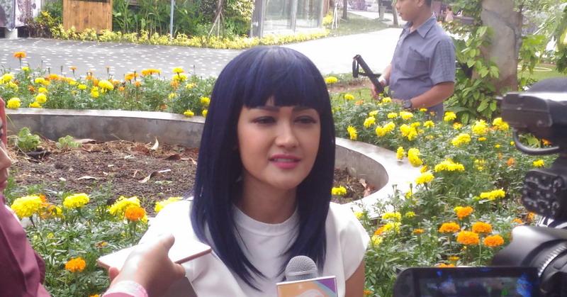 Julia Perez (Foto: Lidya/Okezone)