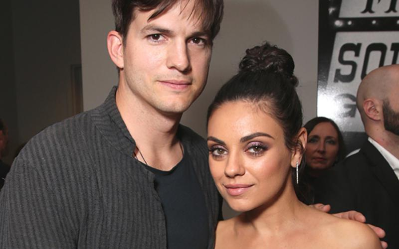 Mila Kunis dan Ashton Kutcher (Foto: People)