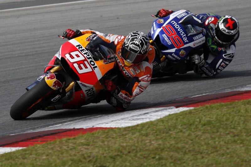 Marquez tampil impresif di COTA. (Foto: AFP/Ahmad Yusni)