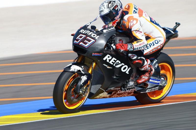 Honda harus kerja keras berikan motor kompetitif bagi Marquez. (Foto: Crash.net)
