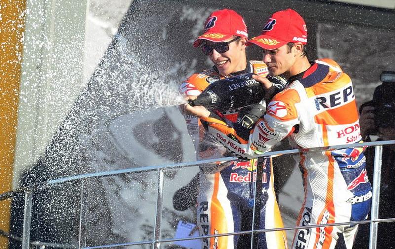 Marquez dan Pedrosa siap gebrak MotoGP 2017. (Foto: AFP/Jose Jordan)