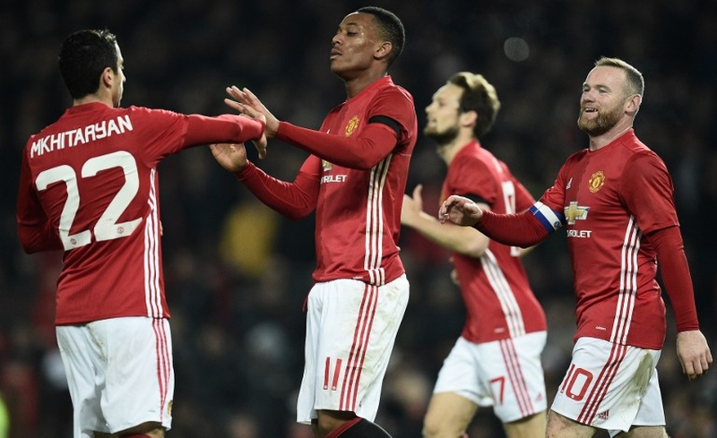 Man United kalahkan West Ham (Foto: AFP)