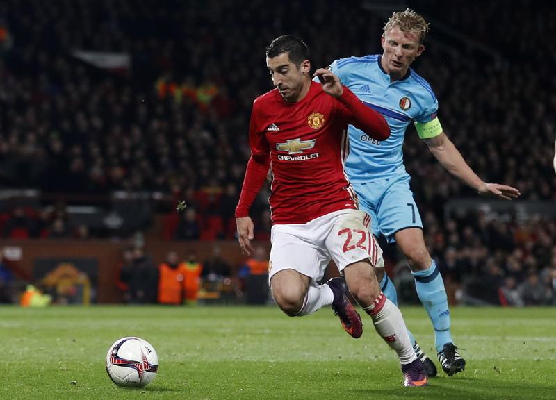 Mkhitaryan dipuji Mourinho. (Foto: REUTERS/Carl Recine)