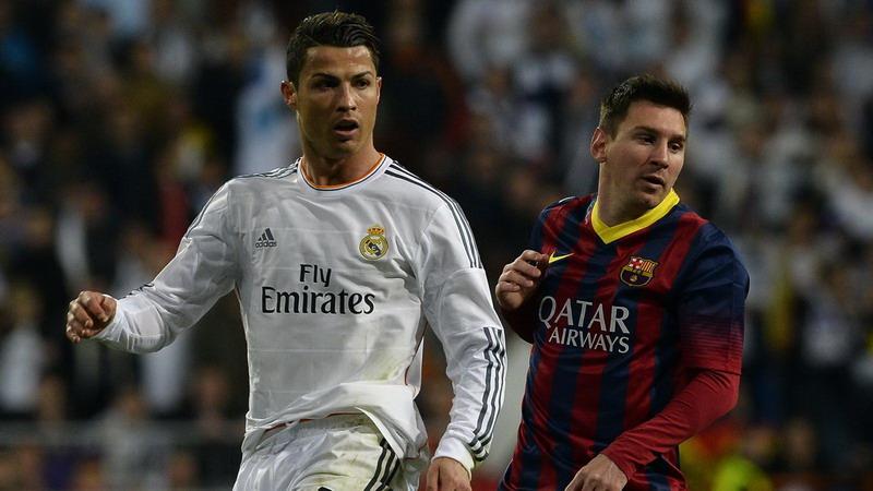 Ronaldo dan Messi bertekad raih kemenangan. (Foto: AFP)
