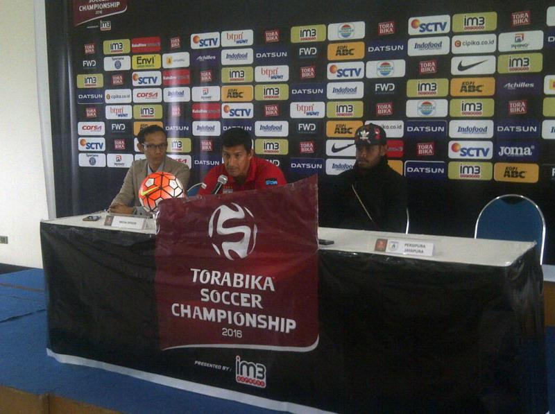 Laga Persipura-Bhayangkara FC diundur satu hari. (Foto: Oris Riswan/Okezone)