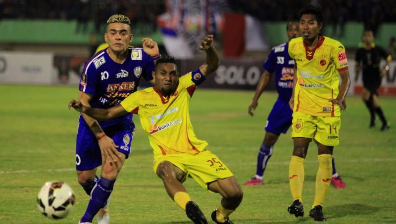 Sriwijaya FC (Foto: Maulana Surya/Antara)