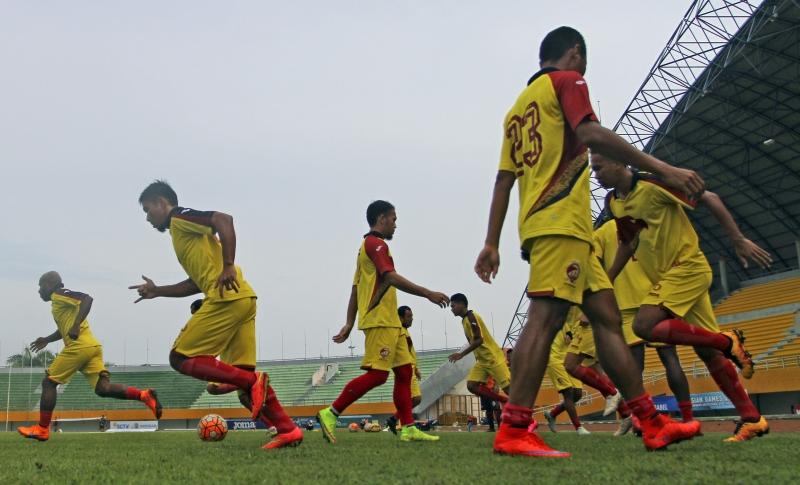 Sriwijaya FC (Foto: Nova Wahyudi/Antara)