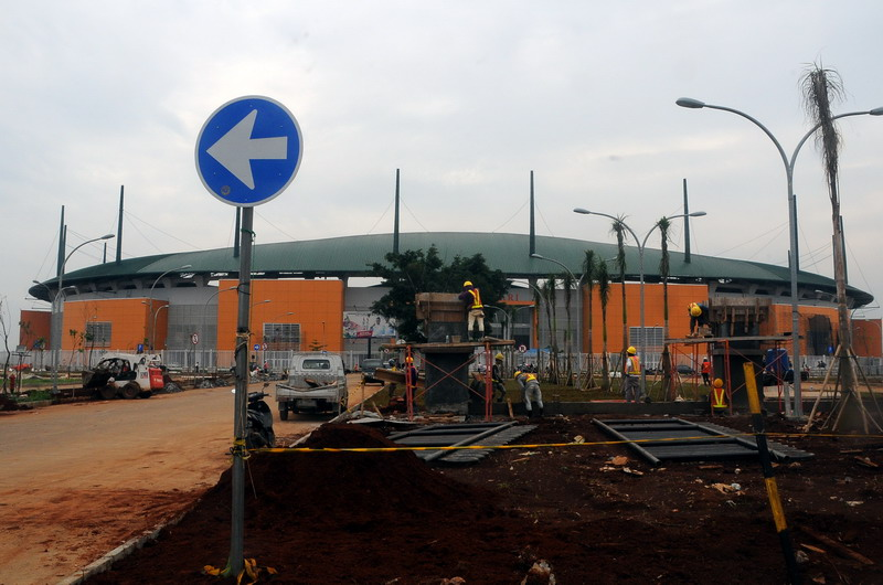 Stadion Pakansari (Foto: Yulius Satria Wijaya/Antara)