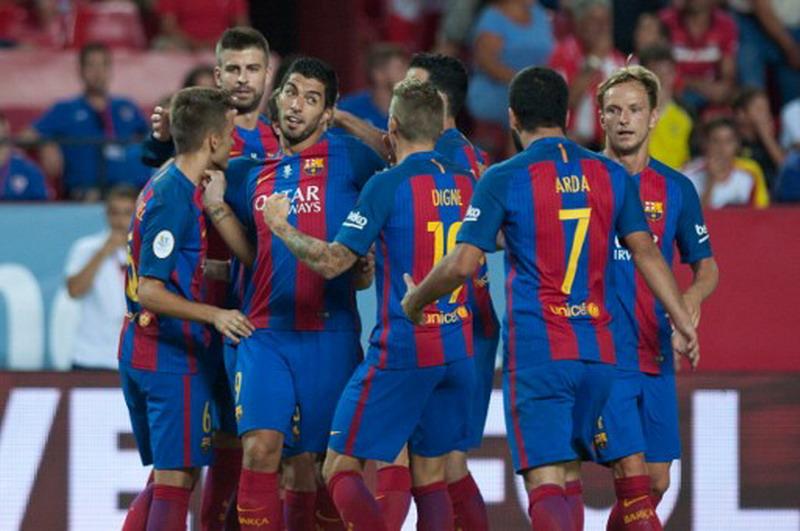 Barcelona pimpin klasemen Liga Spanyol. (Foto: AFP/Jorge Guerrero)