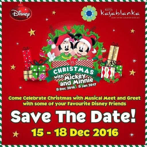 Rayakan Libur Natal dan Akhir Tahun Bersama Mickey and Friends di Kota Kasablanka
