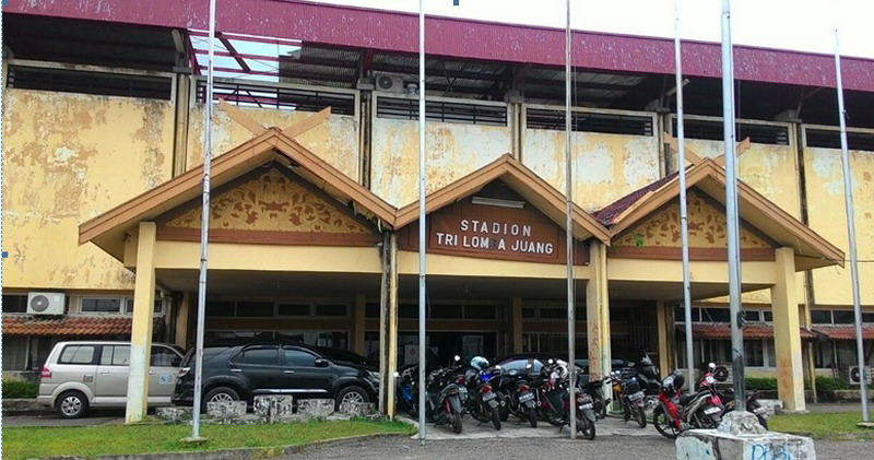 Stadion Tri Lomba Juang, arena Gubernur Cup. (Foto: Nanang/iNews TV)