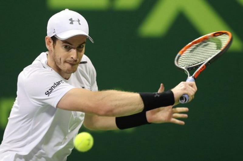 Andy Murray Alami Kekalahan di Qatar Open dan Akan Fokus di Australia Open 2017 (Foto: Karim Jaafar/AFP)