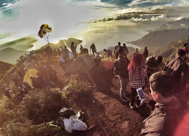 Serunya Berkemah di Atas Bukit Gajah Bobok
