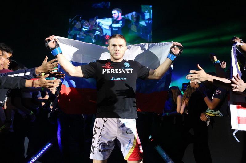 Vitaly Bagdish ingin mempertahankan gelar juara kelas menengah ONE Championship. (Foto: ONE Championship)